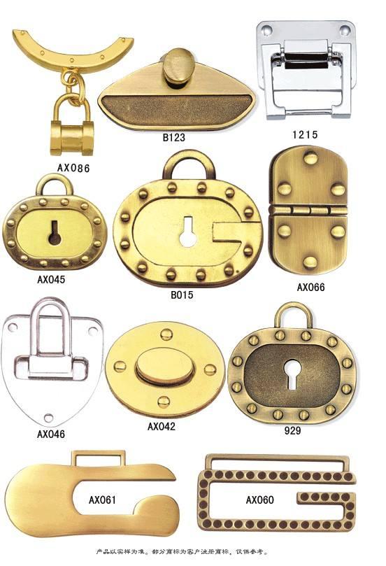 Shoe Closure Handbag Lock Bag Lock Turn Lock Press Lock
