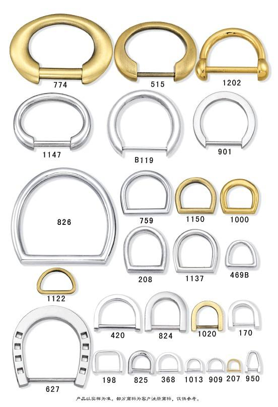 bag ring,spring ring,d ring,o ring,d buckle,square buckle,o buckle,square ring,rhinestone ring